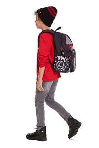 Desigual farebný detský ruksak Backpack Monkey