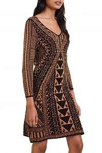 Desigual jesenné šaty Vest Giulia