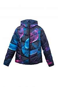 Desigual modrá športová obojstranná bunda Padded Jacket Arty - M