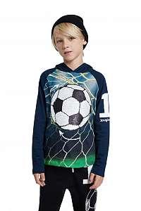 Desigual modré chlapčenské tričko TS Manu