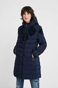 Desigual modré kabát Padded Lena