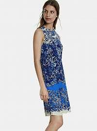 Desigual modré šaty Atenas