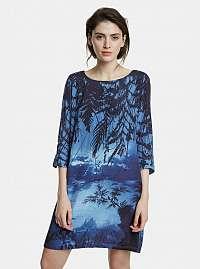 Desigual modré šaty Bruna