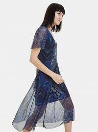 Desigual modré šaty Terry