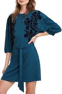 Desigual modré šaty Vest Telma - XXL