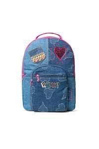 Desigual modrý dievčenský ruksak Backpack Tamarillo