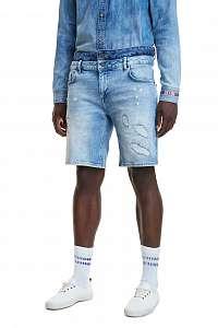 Desigual pánske džínsové kraťasy Denim Azriel