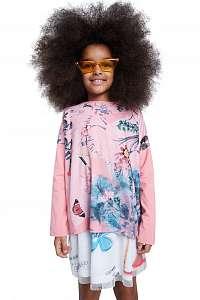 Desigual ružové dievčenské tričko TS Watford