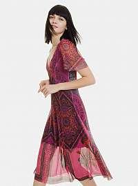 Desigual ružové šaty