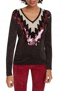 Desigual sveter Jers Maka