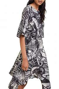 Desigual voľné šaty Vest Marian -