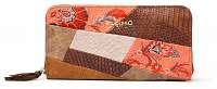 Desigual vzorovaná peňaženka Mone Japan Patch Zip Aroun