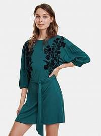 Desigual zelené šaty Telma