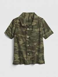 Detská košeľa shirt Zelená