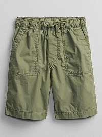 Detské kraťasy pull-on shorts Zelená