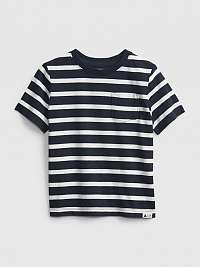 Detské tričko ptf ss stripe Modrá
