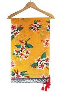 Disaster oranžové šatka Frida Kahlo Mustard