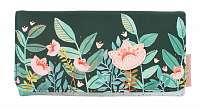 Disaster zelené peňaženka Secret Garden Fox Wallet
