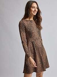Dorothy Perkins hnedé šaty