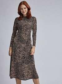 Dorothy Perkins midišaty s leopardím vzorom