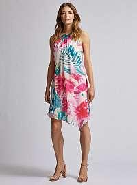 Dorothy Perkins tropické asymetrické šaty