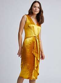 Dorothy Perkins zlaté šaty