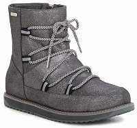 Emu Australia sivé topánky Rutledge Dark Grey