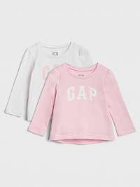 GAP 2 pack dievčenských tričiek