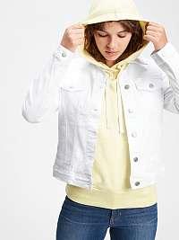 GAP biela džínsová bunda Icon Jacket