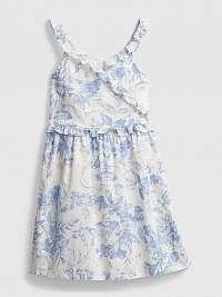 GAP biele dievčenské šaty Wrap