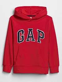 GAP Campus Logo Mikina detská Červená