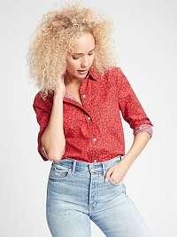 GAP červené dámska košeľa