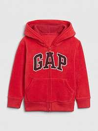 GAP červené dievčenská mikina