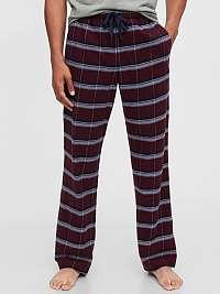 GAP červené pánske pyžamové nohavice
