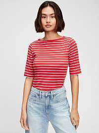 GAP červené pruhované tričko