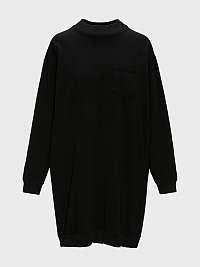 GAP čierne mikinové šaty
