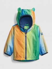 GAP farebné dětská bunda s oušky