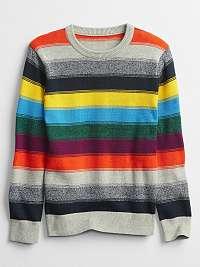 GAP farebné detský sveter