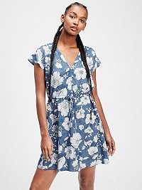 GAP farebné kvetované šaty
