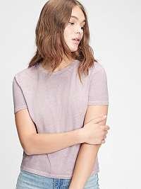GAP fialové dámske tričko