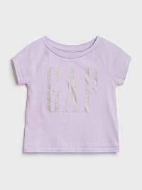 GAP fialové dievčenské tričko