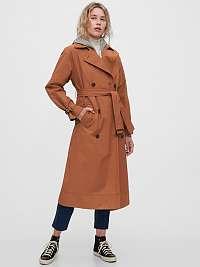 GAP hnedé kabát