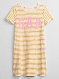 GAP Logo Šaty dětské Žltá