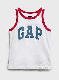 GAP Logo Tielko detské Biela