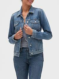 GAP modrá džínsová bunda