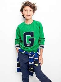 GAP modré chlapčenské nohavice