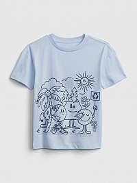 GAP modré chlapčenské tričko Gen Good
