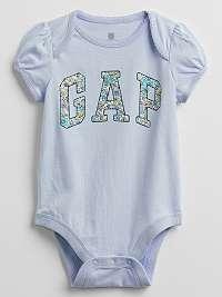 GAP modré dievčenské body Logo