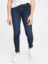 GAP modré dievčenské džínsy Jeggins