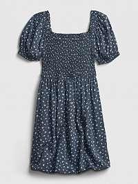 GAP modré dievčenské šaty Mini Floral